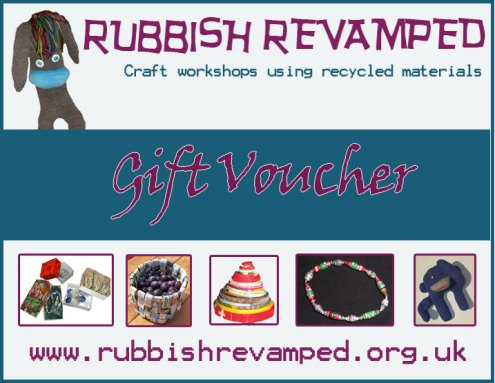 Rubbish Revamped gift voucher